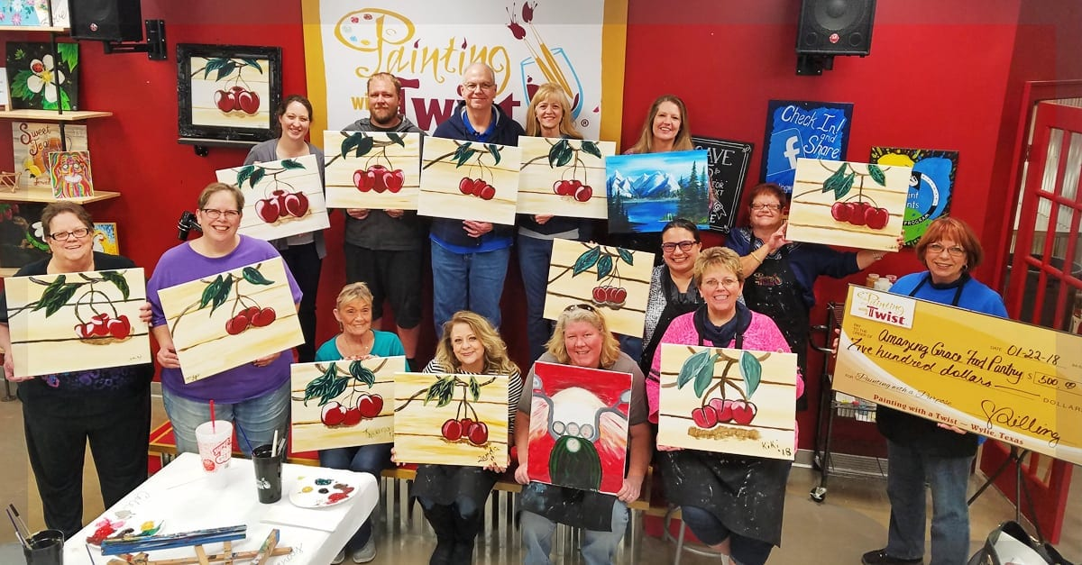 AGFP Painting with a Twist