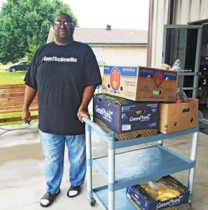 New Client at Amazing Grace Food Pantry