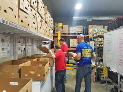 Tuesday Volunteers at Amazing Grace Food Pantry