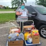 Charity i sa client with Amazing Grace Food Pantry